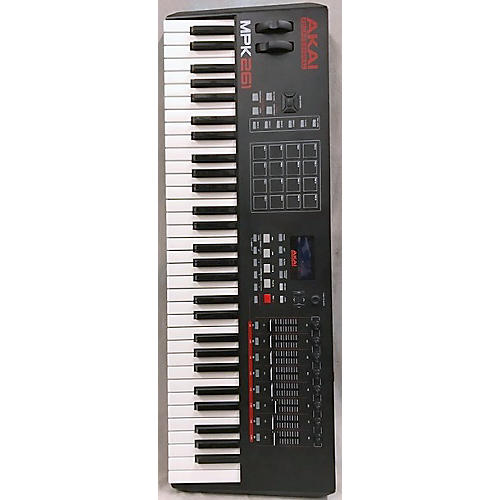 used akai professional mpk261 61 key midi controller guitar center. Black Bedroom Furniture Sets. Home Design Ideas