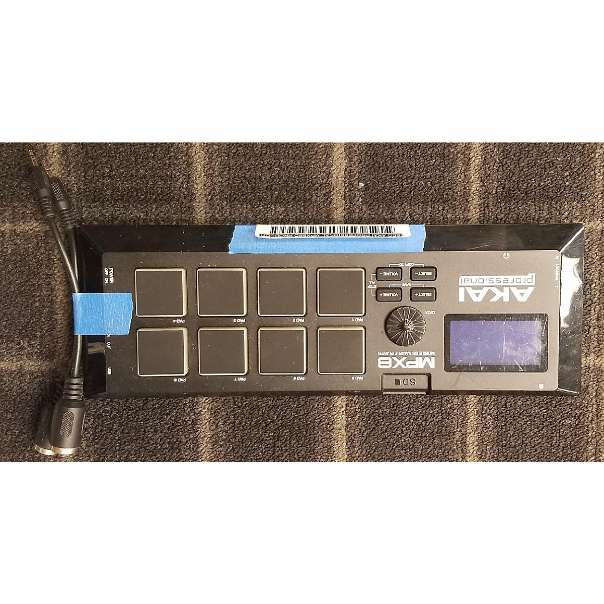 Akai Professional MPX8SD Production Controller