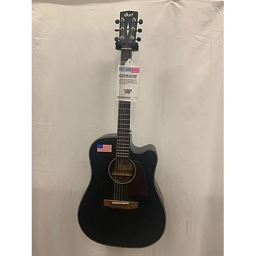 Cort MR E BKS Acoustic Electric Guitar