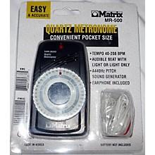 Matrix MR500 Quartz Metronome Drum Key