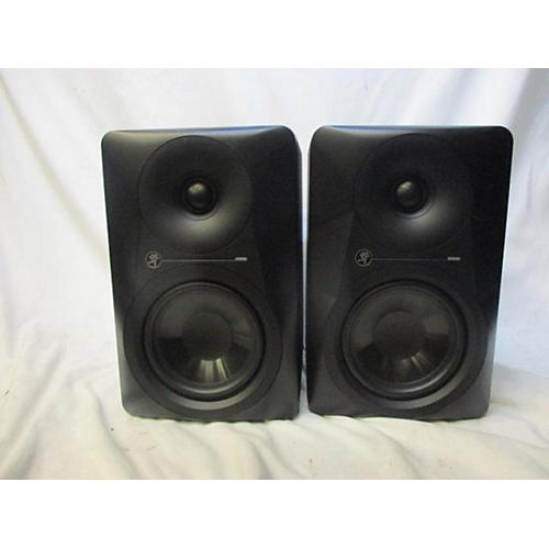 used mackie mr524 pair powered monitor guitar center. Black Bedroom Furniture Sets. Home Design Ideas