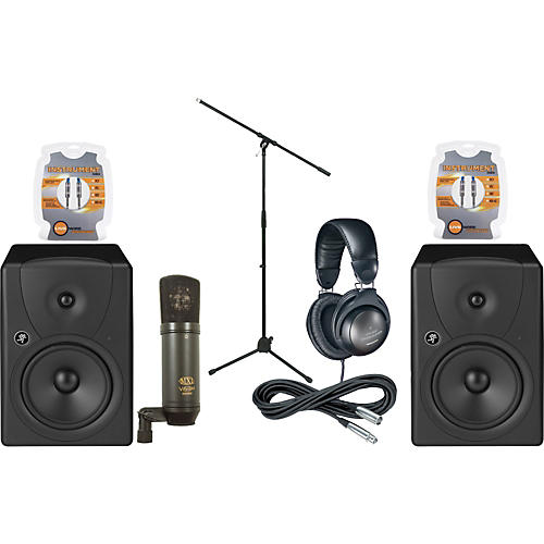 Musician's Friend MR8 Monitor & Mic Package