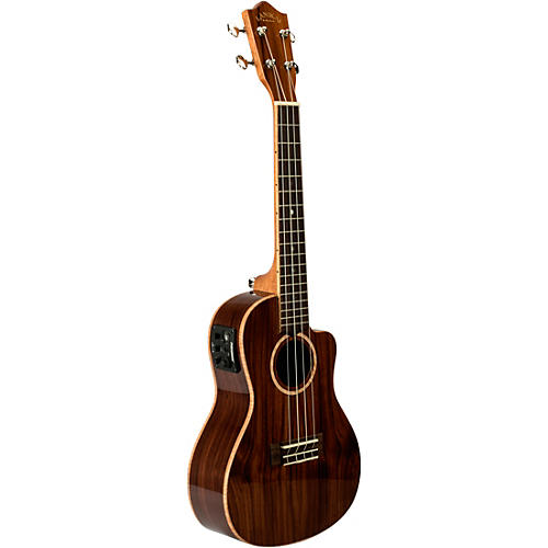 Lanikai MRS-CEC All Solid Morado Concert with Kula Preamp A E Ukulele