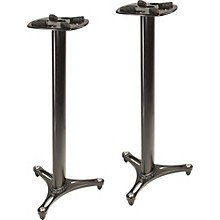 "Ultimate Support MS-90-45 45"" Studio Monitor Stand Pair Level 1 Black"