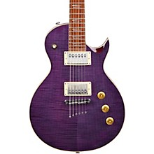 MS450 Modern Single-Cutaway Electric Guitar Flame Purple