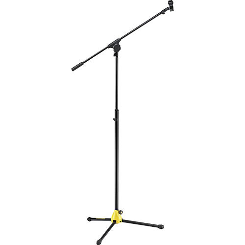 Hercules Stands MS655B EZ Glide Clutchless Tripod with Boom Microphone Stand