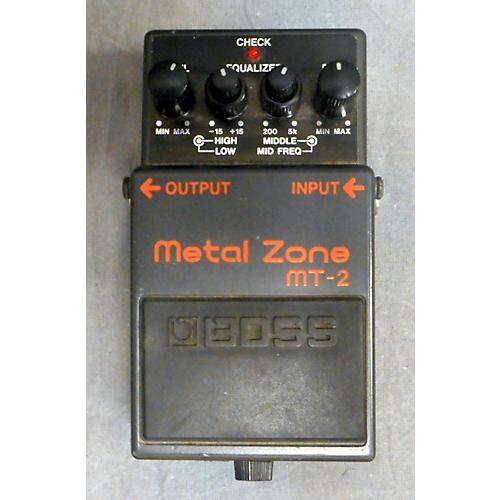 Boss MT2 Metal Zone Distortion Effect Pedal