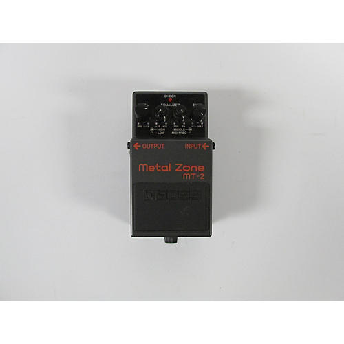 used boss mt2 metal zone distortion effect pedal guitar center. Black Bedroom Furniture Sets. Home Design Ideas