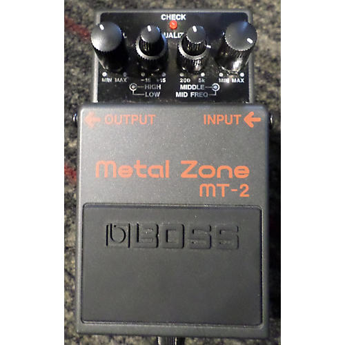 Boss MT2 Metal Zone Distortion