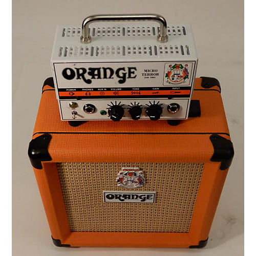 Orange Amplifiers MT20 Micro Terror 20W & PPC108 Guitar Stack