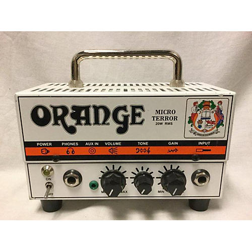 used orange amplifiers mt20 micro terror 20w tube guitar amp head guitar center. Black Bedroom Furniture Sets. Home Design Ideas