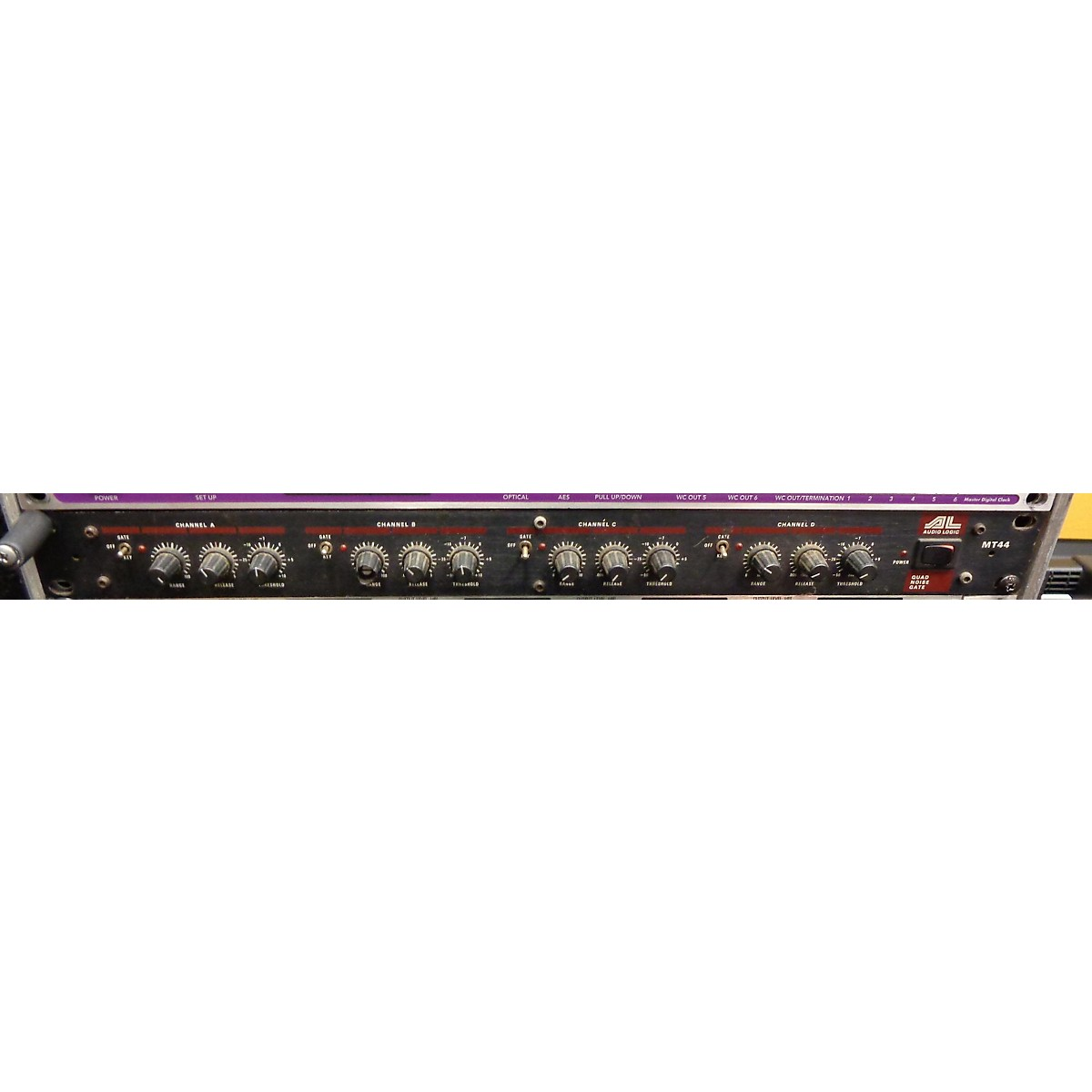 AUDIO LOGIC MT44 Quad Noise Gate Noise Gate
