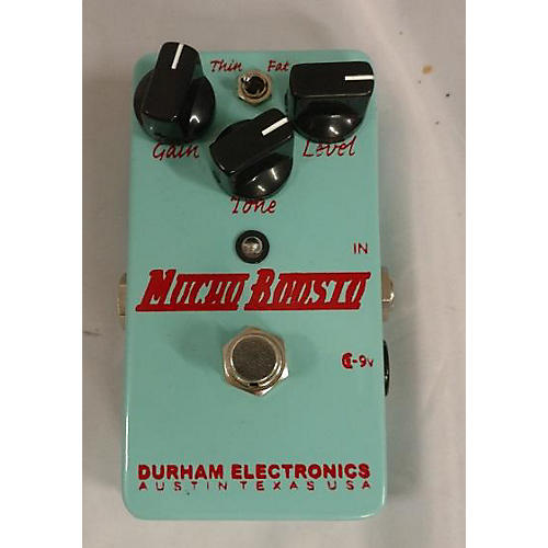 Durham Electronics MUCHO BOOSTO Effect Pedal
