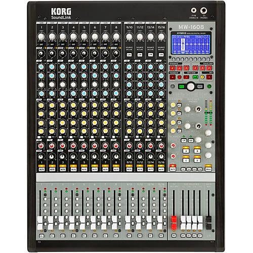 Korg MW-1608 SoundLink 16-Channel Hybrid Analog/Digital Mixer