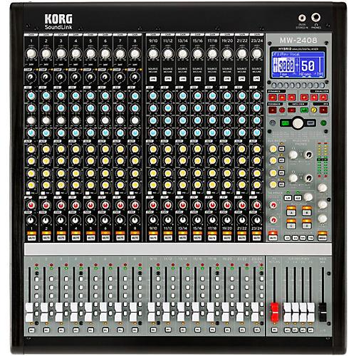 Korg MW-2408 SoundLink 24-Channel Hybrid Analog/Digital Mixer