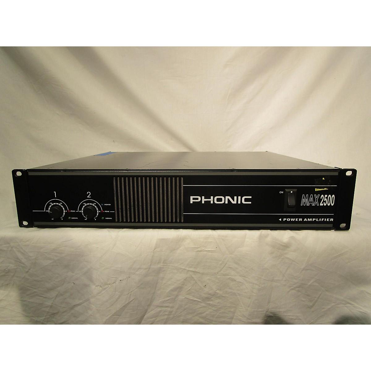 Phonic MX 2500 Keyboard Amp