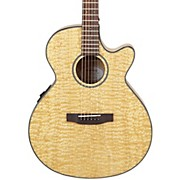MX400 Exotic Wood Acoustic-Electric Guitar Quilted Ash Burl