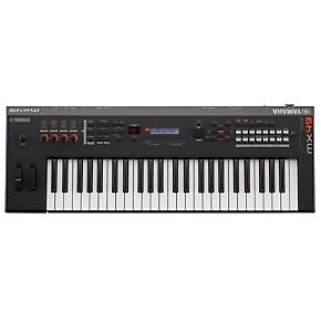 yamaha mx49 49 key music production synthesizer black guitar center. Black Bedroom Furniture Sets. Home Design Ideas