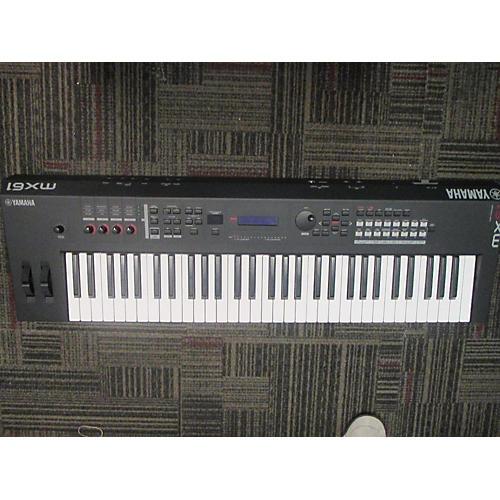Used yamaha mx61 61 key keyboard workstation guitar center for Yamaha mx61 specs