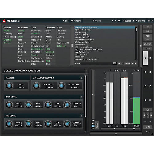 MeldaProduction MXXX Modular Multi-Effects Processor Software Download