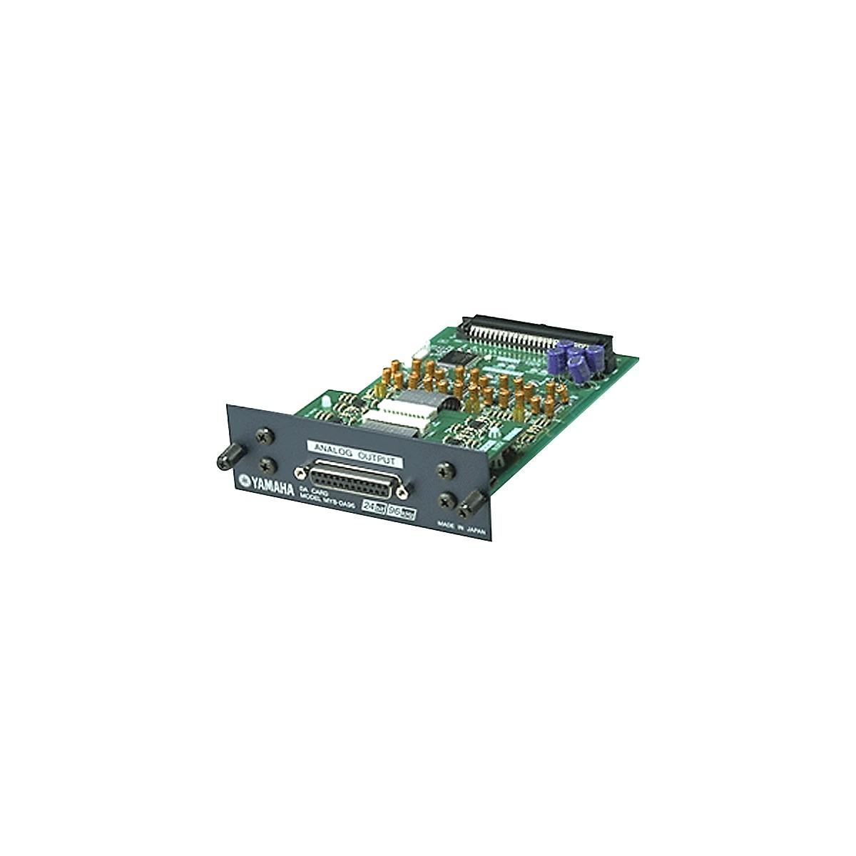 Yamaha MY8DA96 8-Channel 24-bit/96kHz analog line-level output card