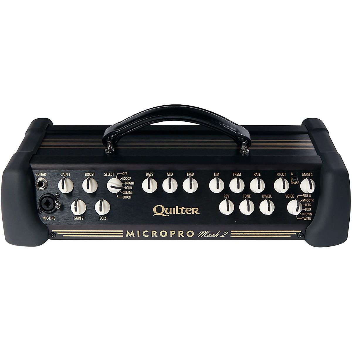 Quilter Labs Mach2-HEAD MicroPro Guitar Amplifier Head