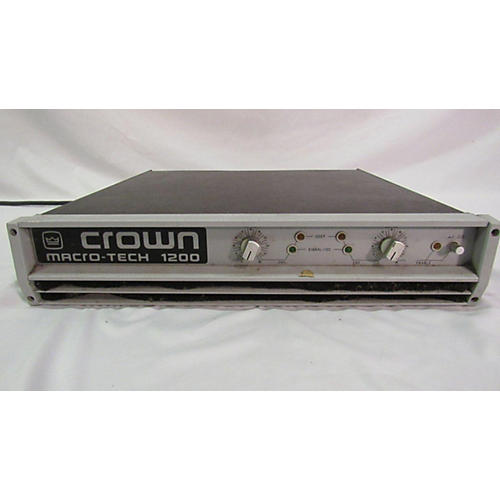 Crown Macro-Tech 1200 Power Amp