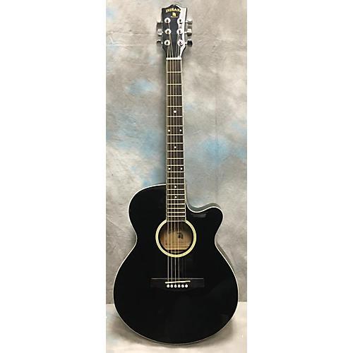 used indiana madison e bk acoustic electric guitar guitar center. Black Bedroom Furniture Sets. Home Design Ideas