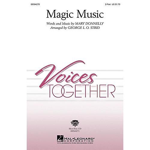 Hal Leonard Magic Music ShowTrax CD Arranged by George L.O. Strid