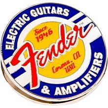 Fender Magnet Clip Guitars and Amps Logo