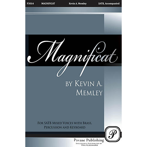 Pavane Magnificat (Brass Quintet Full Score) Score Composed by Kevin Memley