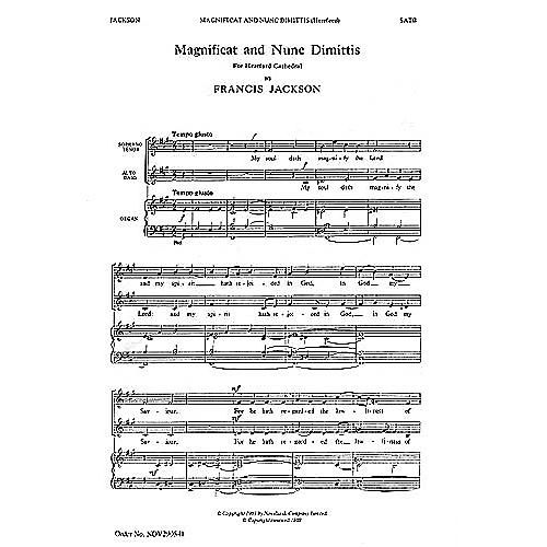 Novello Magnificat and Nunc Dimittis (Hereford) SATB