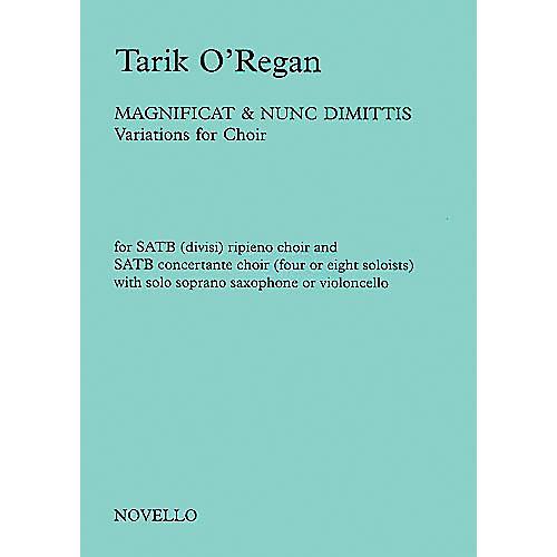 Novello Magnificat and Nunc Dimittis (Variations for Choir) SATB Composed by Tarik O'Regan