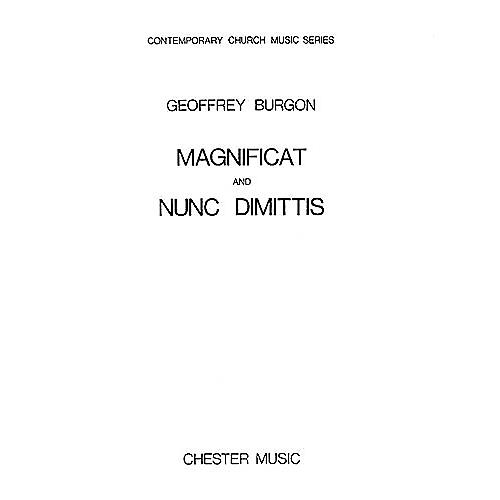 Chester Music Magnificat and Nunc Dimittis (Vocal Score) 2PT TREBLE Composed by Geoffrey Burgon