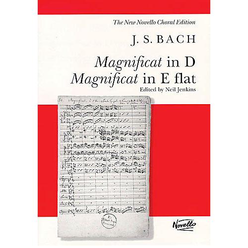Novello Magnificat in D/Magnificat in E Flat (BWV243 & BWV 243A) SATB Composed by Johann Sebastian Bach