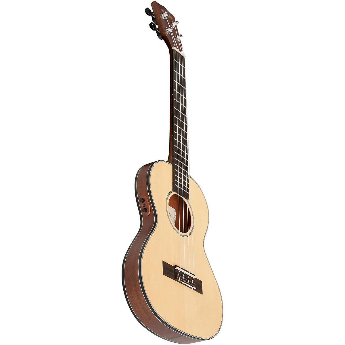 Dean Guitars Ukulele Travel Uke: Kala Mahogany Travel Tenor Acoustic-Electric Ukulele