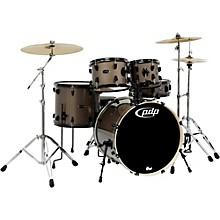 Mainstage 5-Piece Drum Set w/Hardware and Paiste Cymbals Bronze Metallic