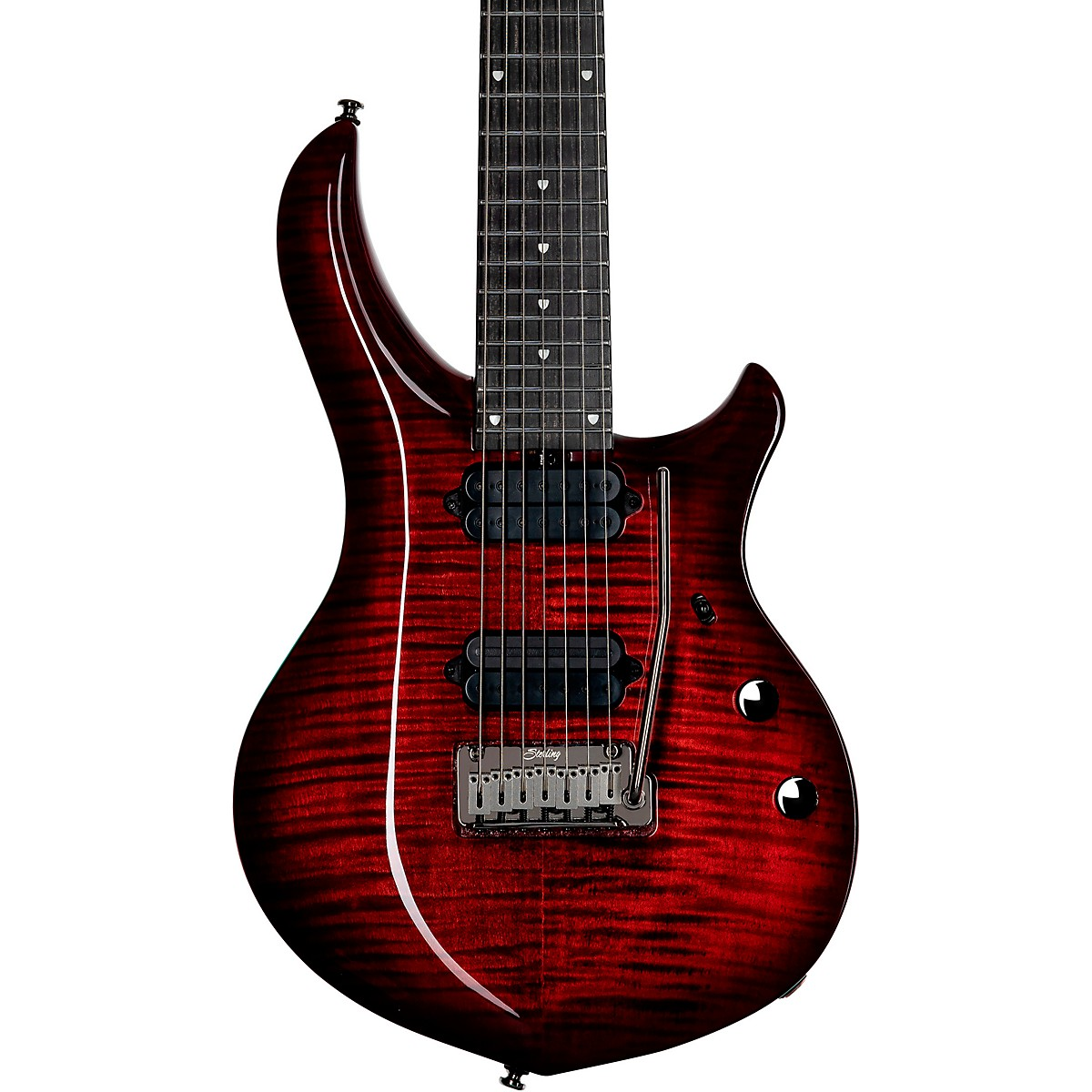 Sterling by Music Man Majesty with DiMarzio Pickups 7-String Electric Guitar