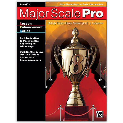 Alfred Major Scale Pro, Book 1 Late Elementary / Early Intermediate