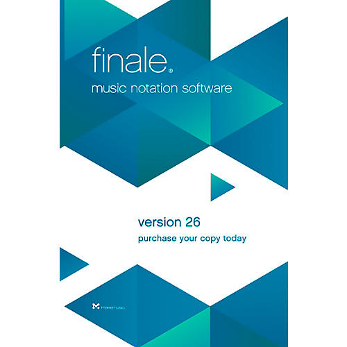 Alfred MakeMusic Finale 26 Competitive Upgrade Site (download)