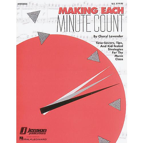 Hal Leonard Making Each Minute Count Book