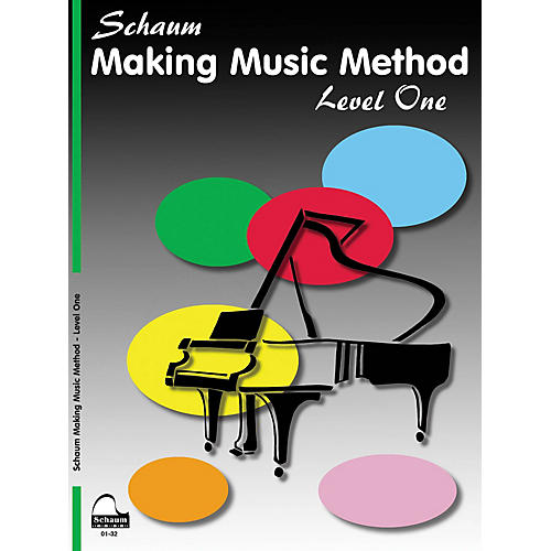 SCHAUM Making Music Method (Level 1 Elem Level) Educational Piano Book by John W. Schaum