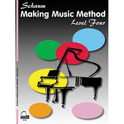 SCHAUM Making Music Method (Level 4 Inter Level) Educational Piano Book by John W. Schaum