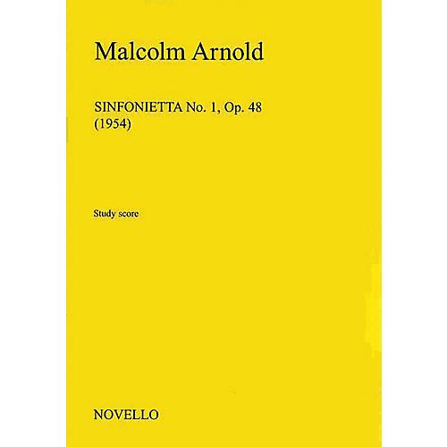 Music Sales Malcolm Arnold: Sinfonietta No.1 Op.48 Music Sales America Series