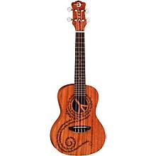 Luna Guitars Maluhia Concert Ukulele Level 1 Mahogany with Satin Finish