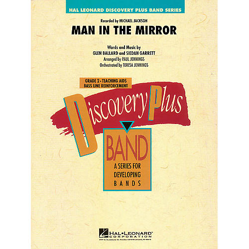 Hal Leonard Man in the Mirror - Discovery Plus Band Level 2 arranged by Paul Jennings