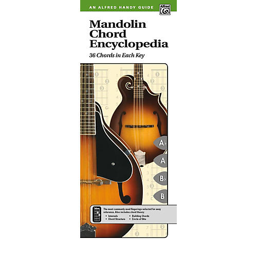 Alfred Mandolin Chord Encyclopedia (2nd Edition) Comb Bound Handy Guide