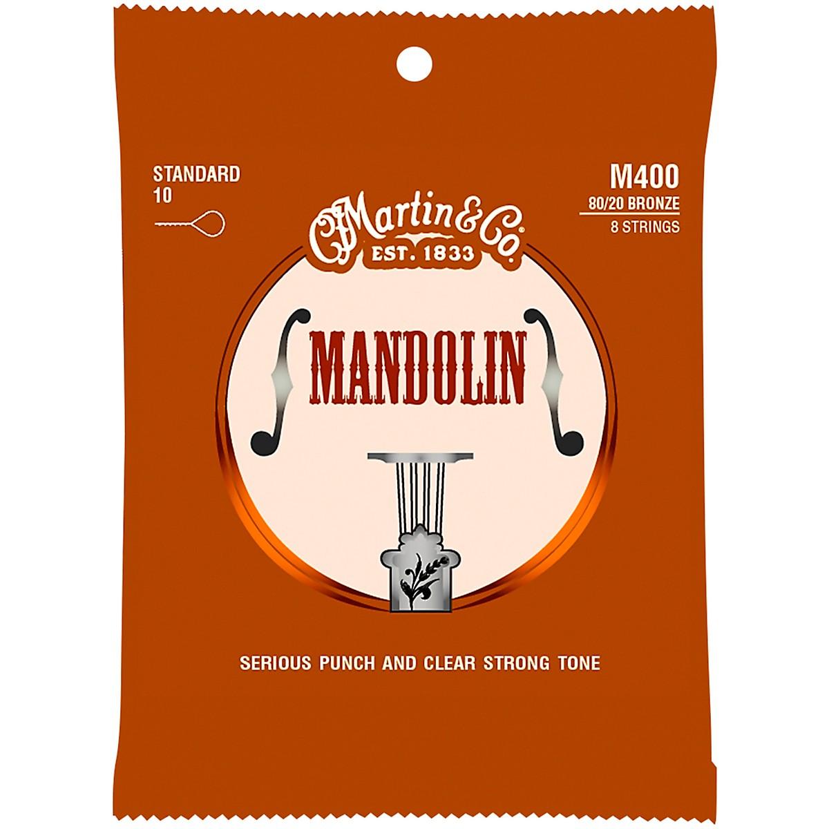 Martin Mandolin M400 80/20 Bronze 8 Strings Standard 10