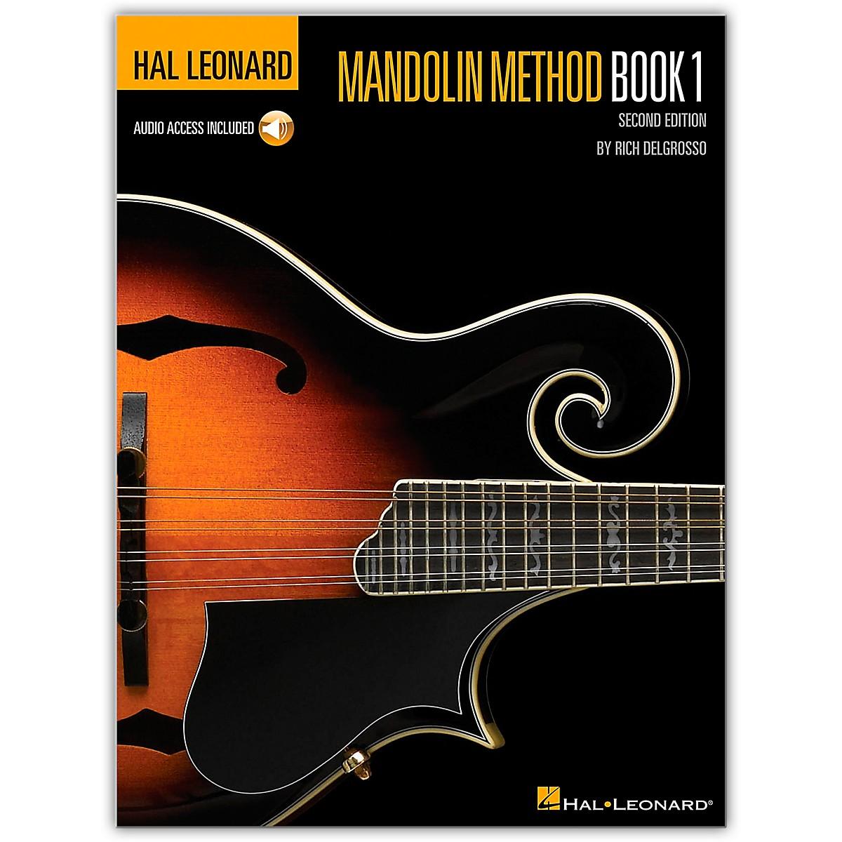 Hal Leonard Mandolin Method (Book/Online Audio)