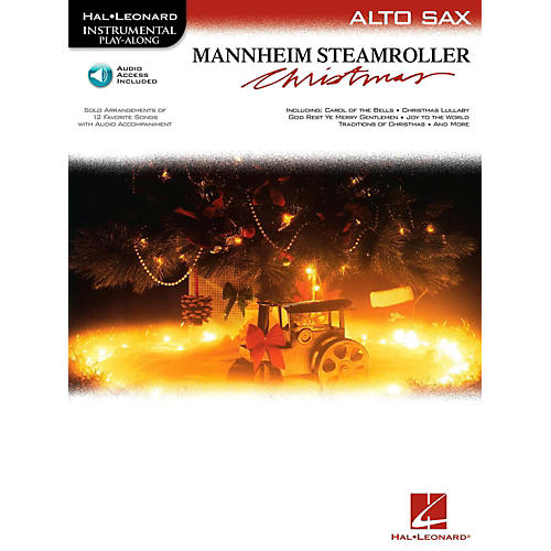 Hal Leonard Mannheim Steamroller Christmas For Alto Sax - Instrumental Play-Along (Bk/Audio)